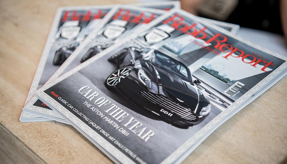 Aston Martin, Robb Report Singapore's Car of the Year 2017
