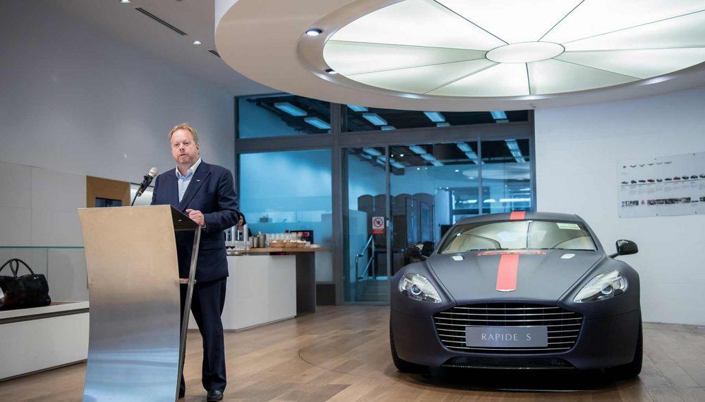 Aston Martin, Andy Palmer