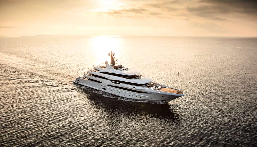 Cloud 9 yacht by CRN