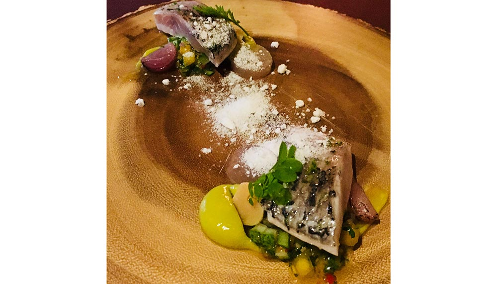 Pickled Local Sea Bass