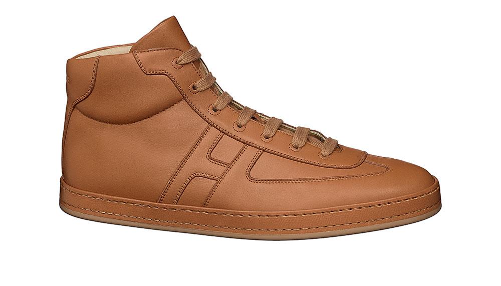 Hermes' sneaker in calfskin