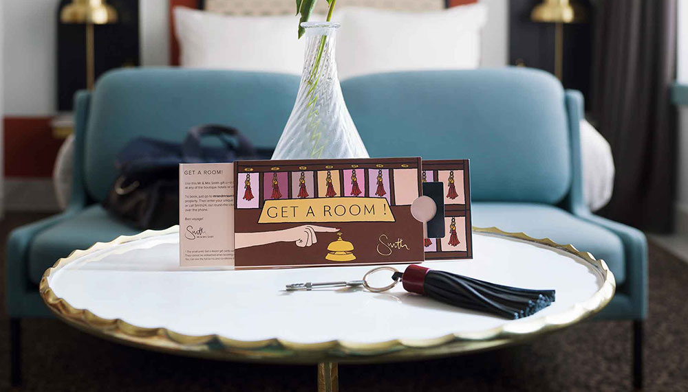 Angelica Hicks X Mr & Mrs Smith Gift Card