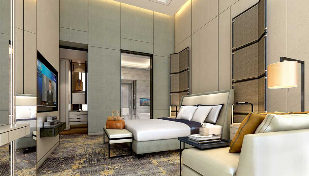 Joaquim suite, Sofitel Singapore City Centre