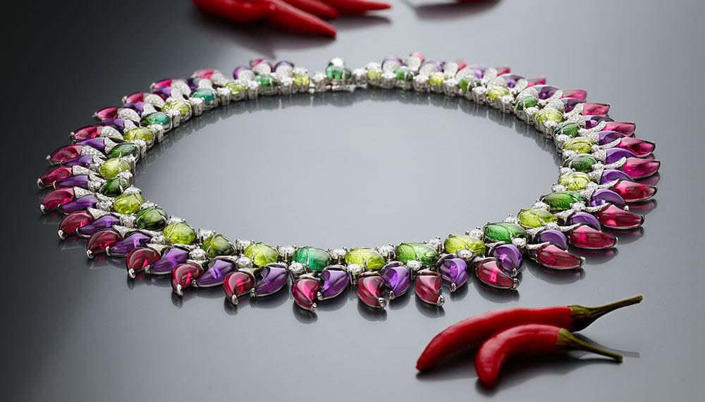 Bulgari Peperoncini necklace