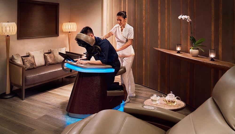 Private spa sessions