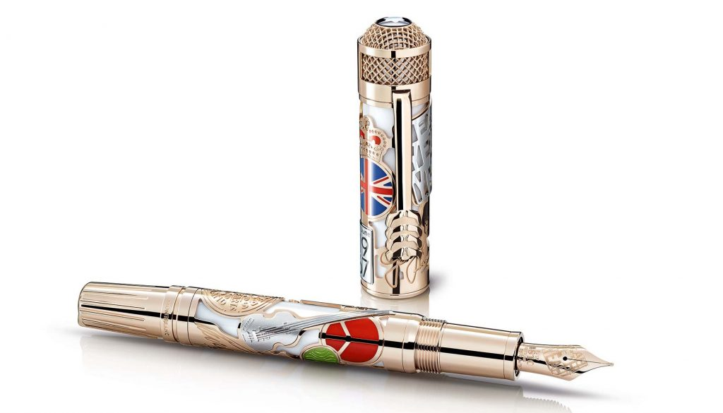 Montblanc's tribute to The Beatles