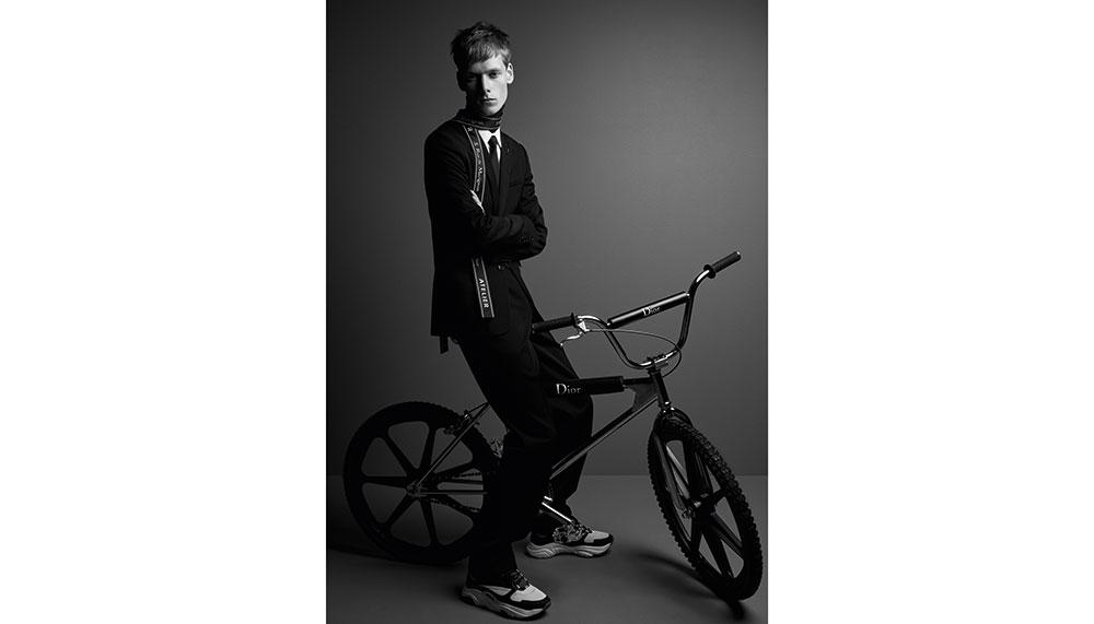 Dior Homme BMX bike