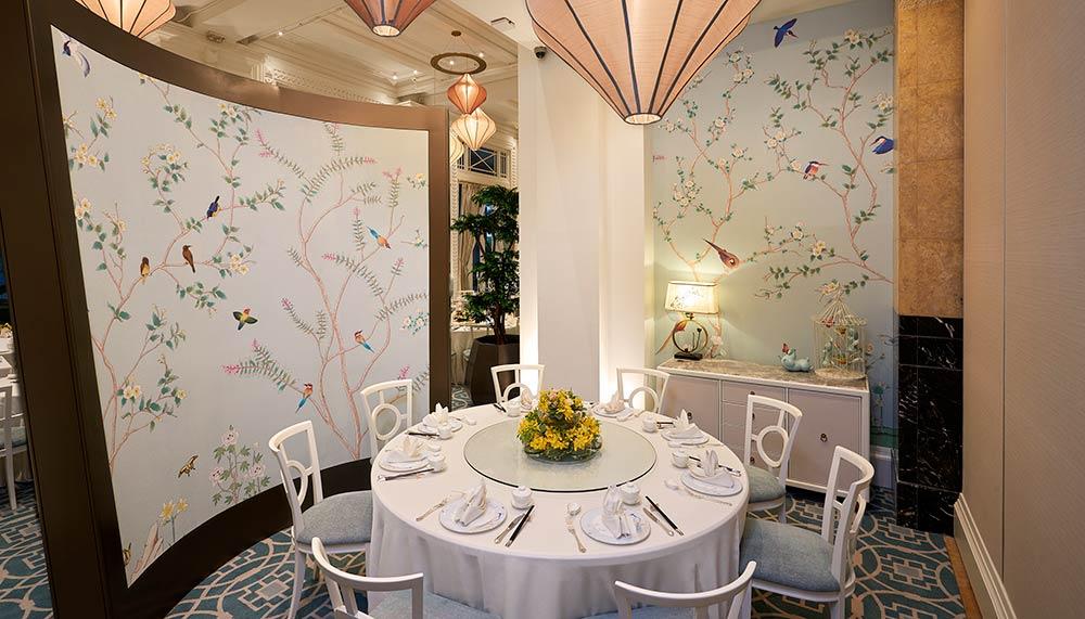 Restaurant Jade. The Fullerton Hotel Singapore