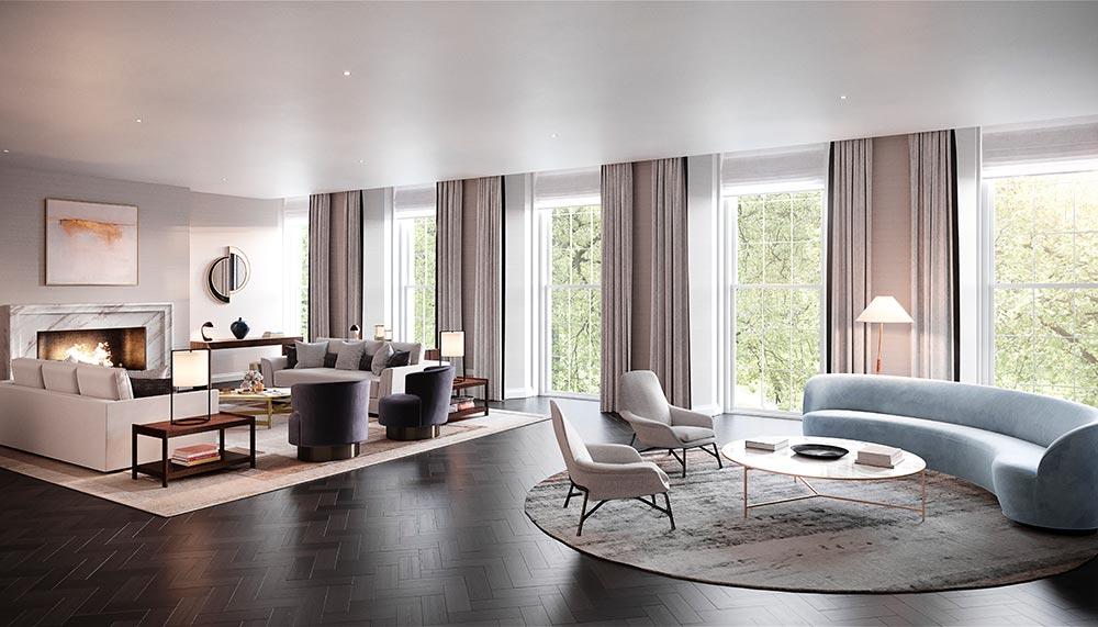 Most beautiful living rooms, Twenty Grosvenor Square