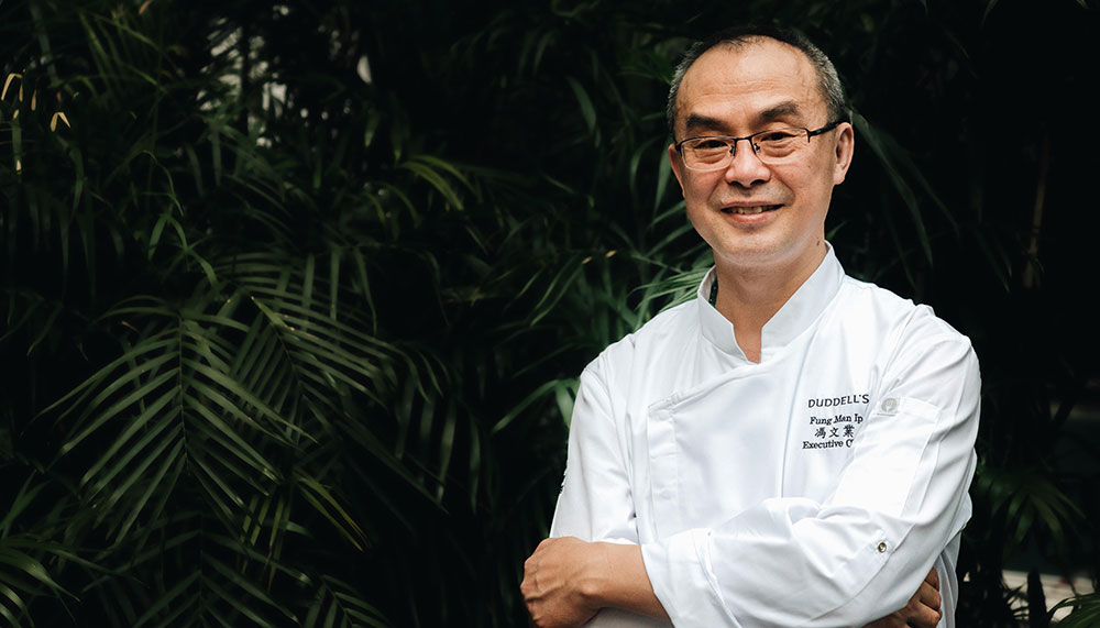 Chef Fung Man-Ip, Duddell's