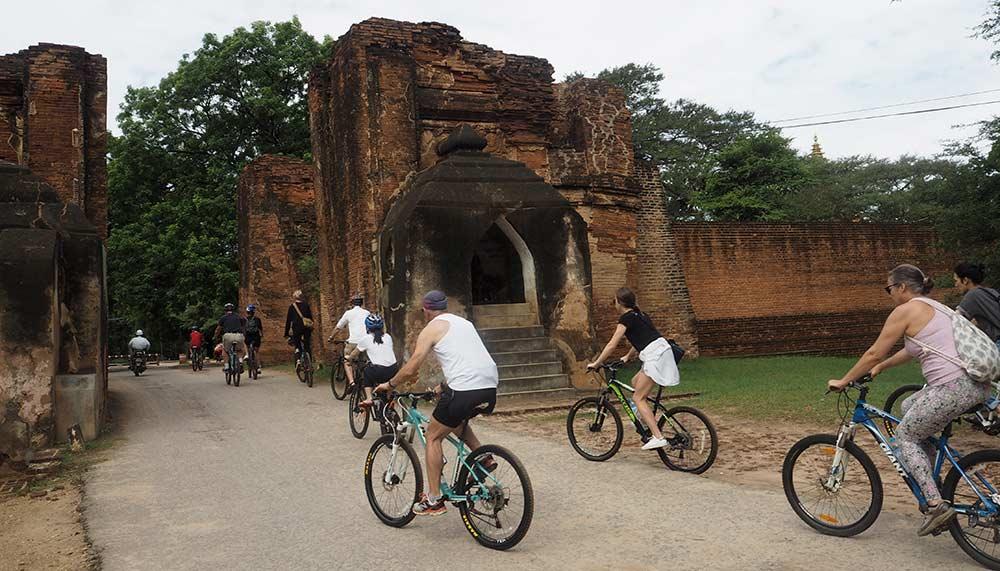 Cycling in Myanmar