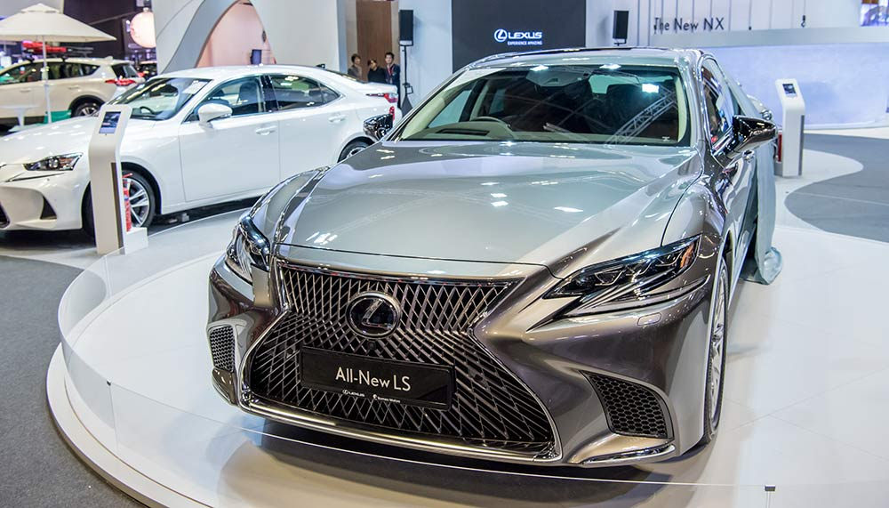 Lexus LS, Singapore Motorshow