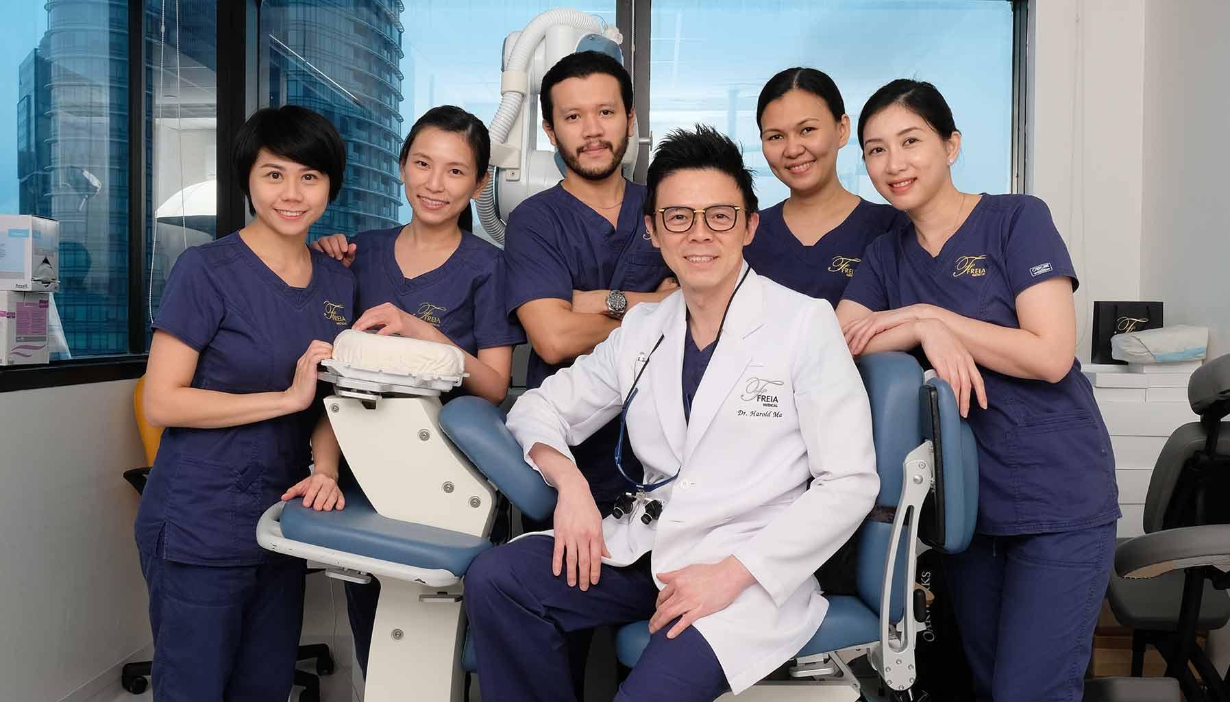 Freia Medical, Harold Ma