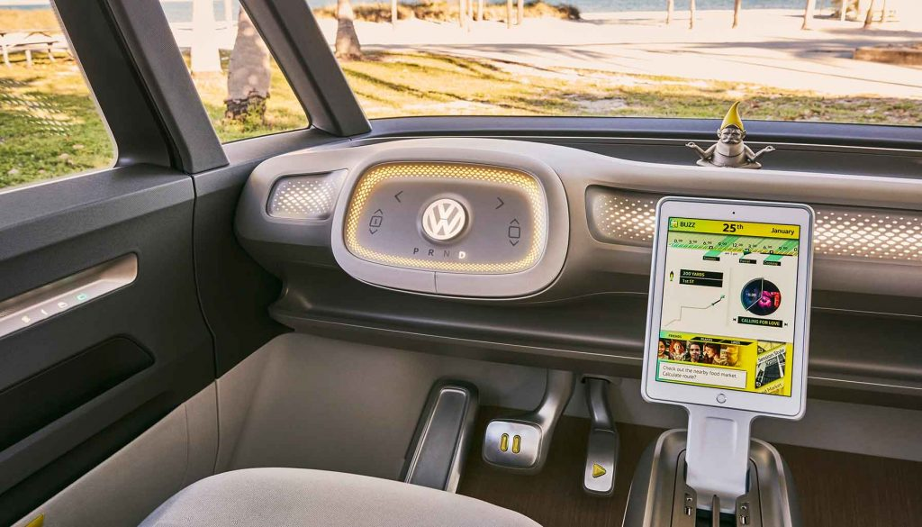Nvidia-powered self-driving Volkswagen, CES 2018