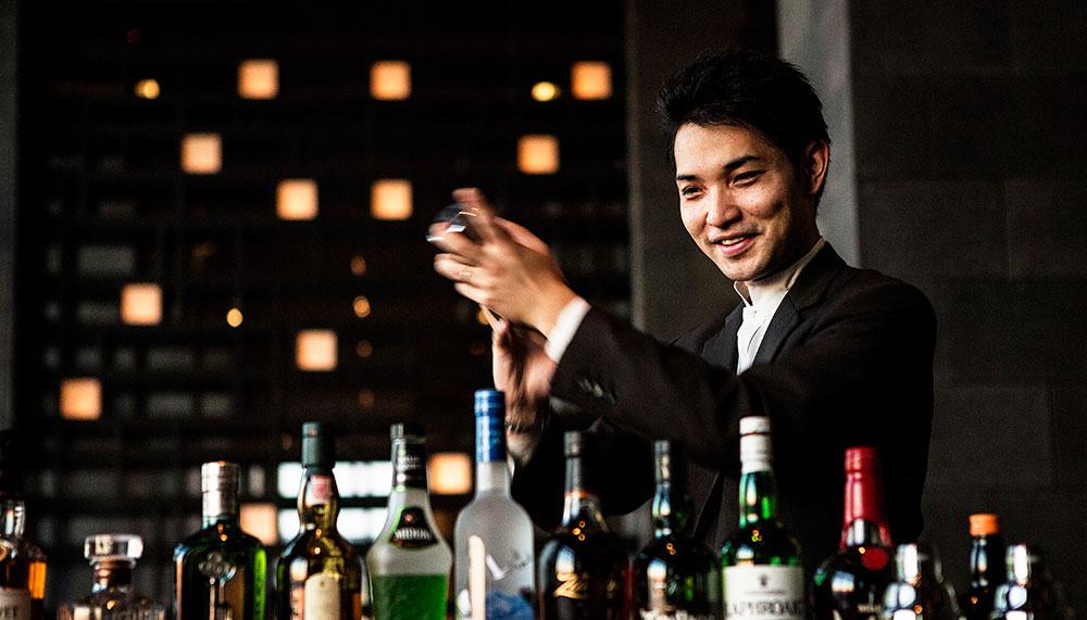 Chief bartender Toshio Imai of Aman Tokyo's Black Bar