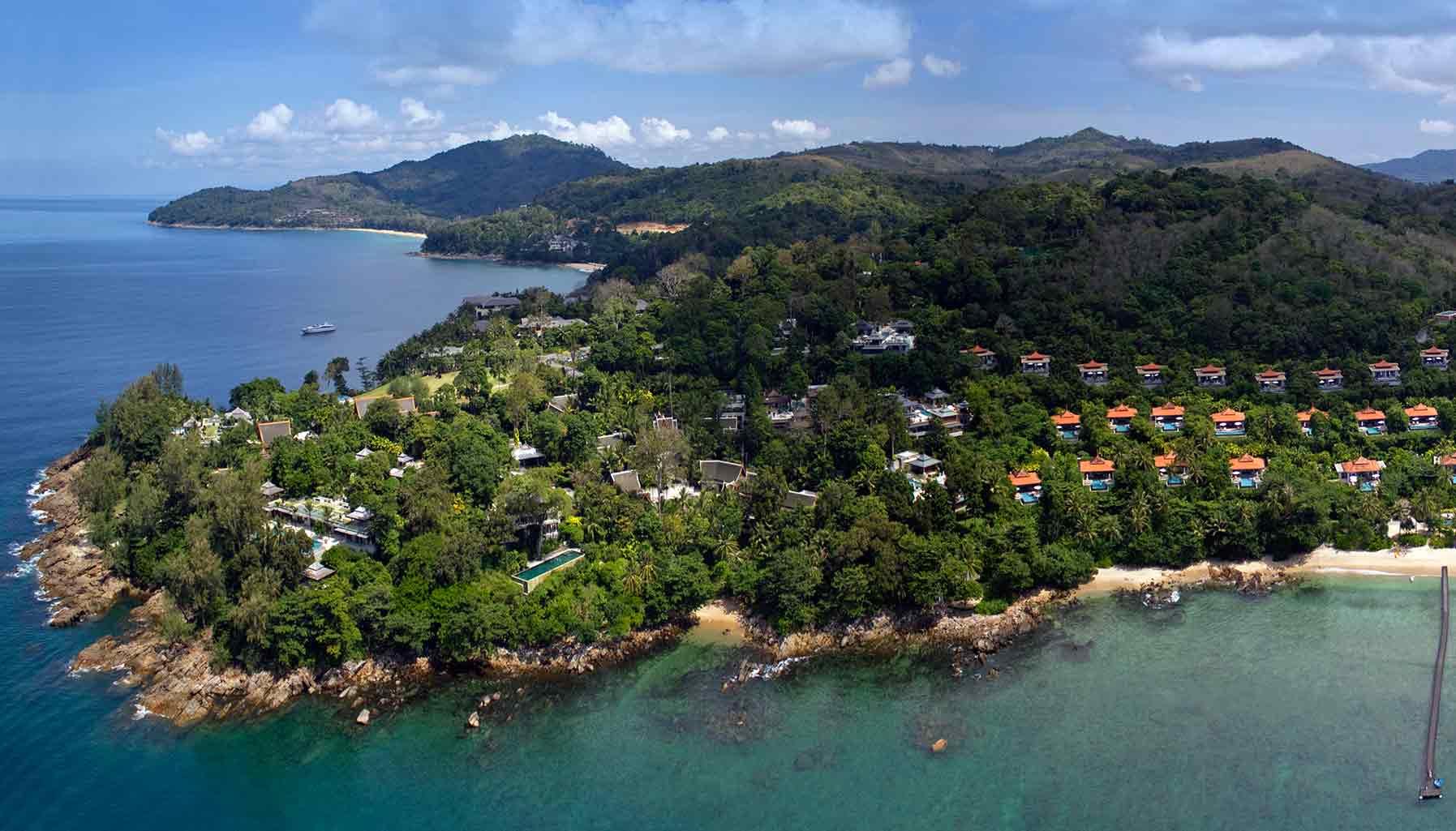 Luxury babymoon getaways near Singapore - Trisara Resort Phuket