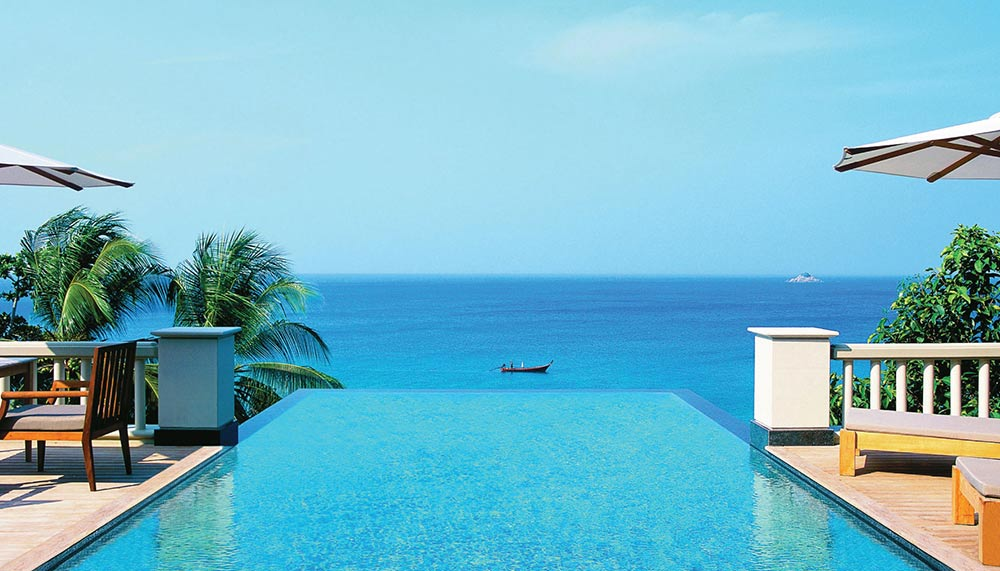 Luxury babymoon getaways near Singapore - Trisara Resort Phuket