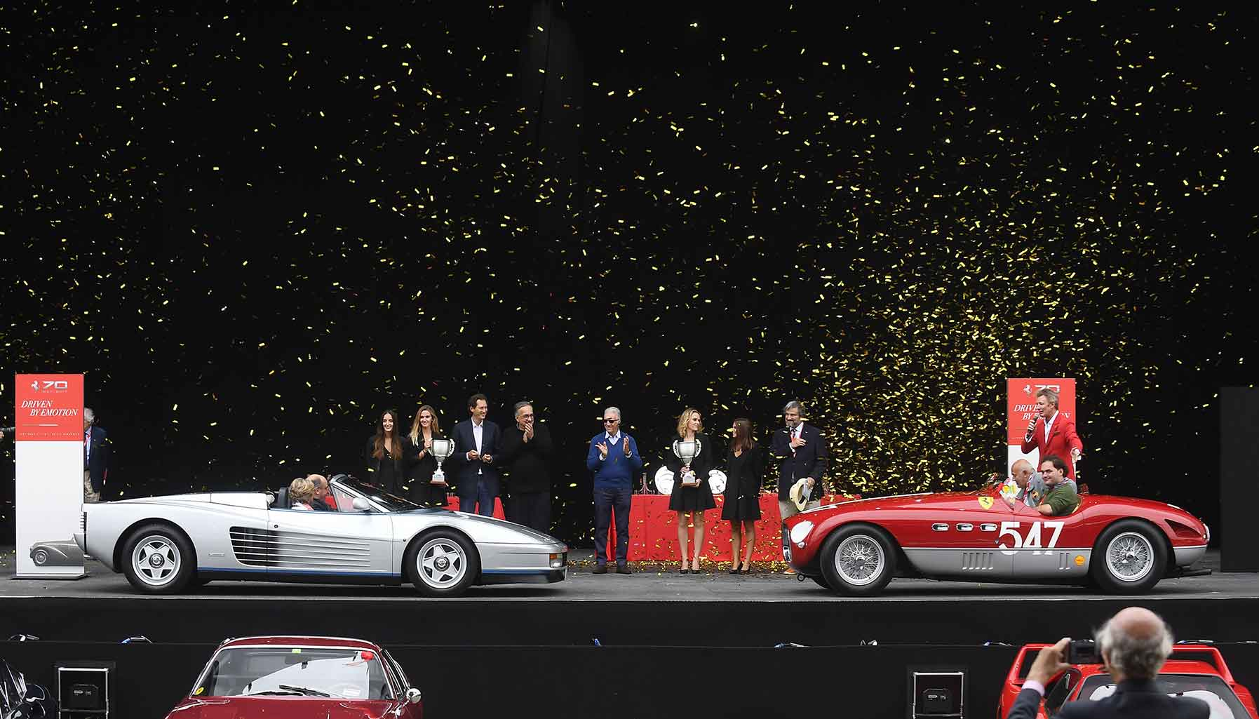 Ferrari Celebrates Its 70th Anniversary