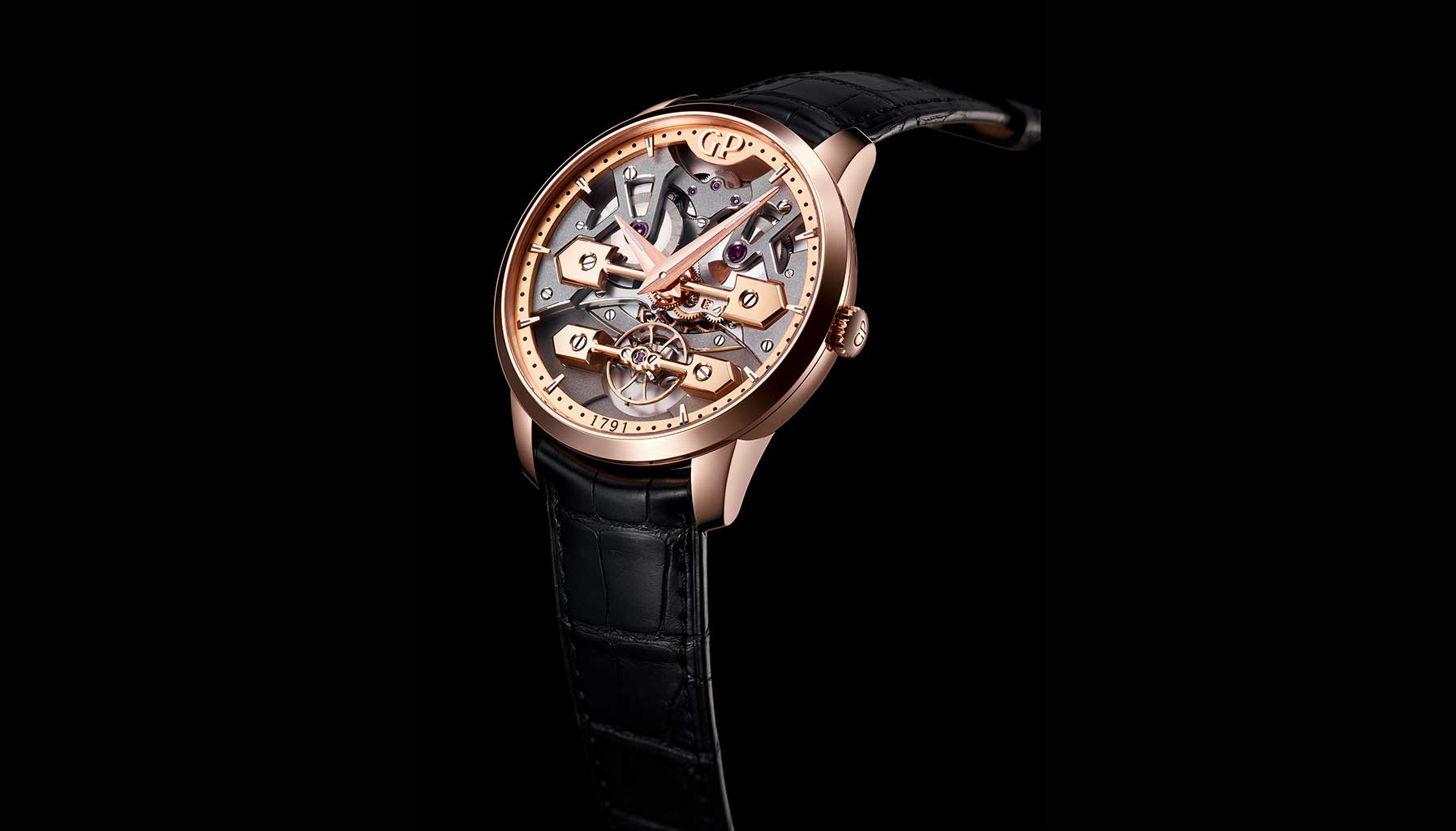 Neo Tourbillon with Three Bridges Skeleton