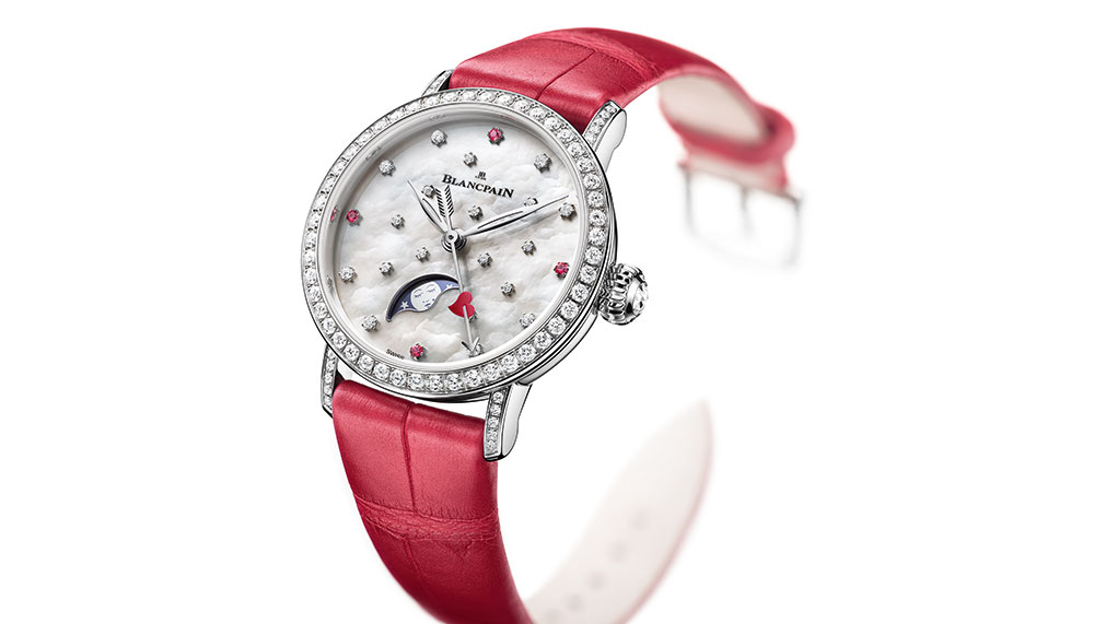 Villeret Valentine's Day 2018 model By Blancpain
