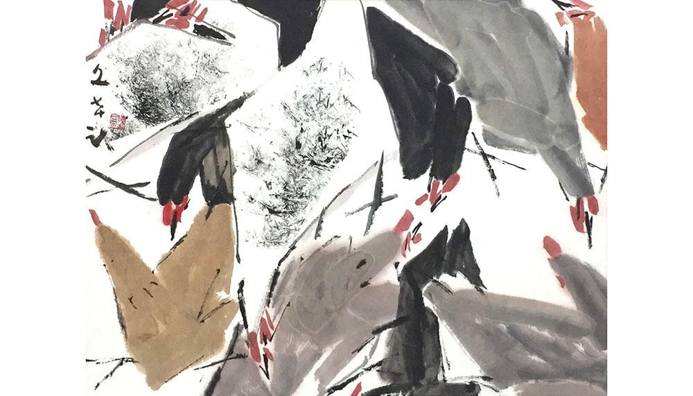 Artwork by Chen Wen Hsi