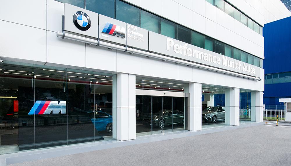 BMW M Showroom Singapore