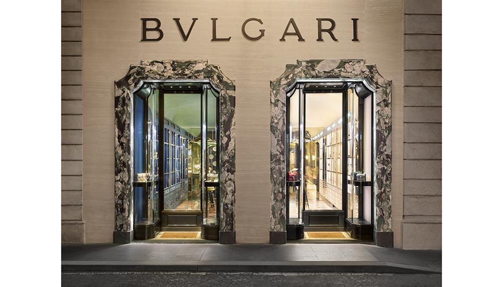 Bulgari Curiosity Shop in Rome