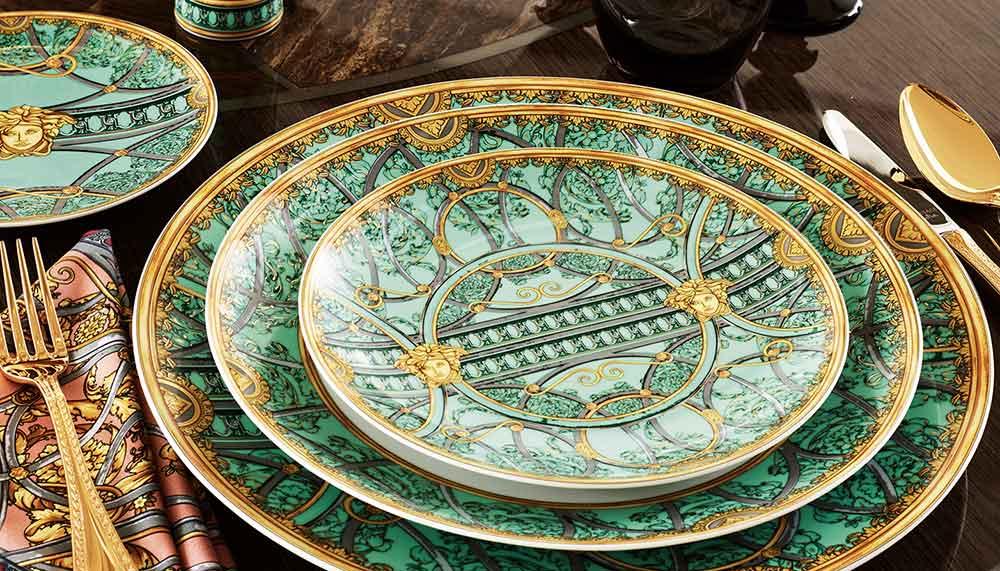 Versace tableware