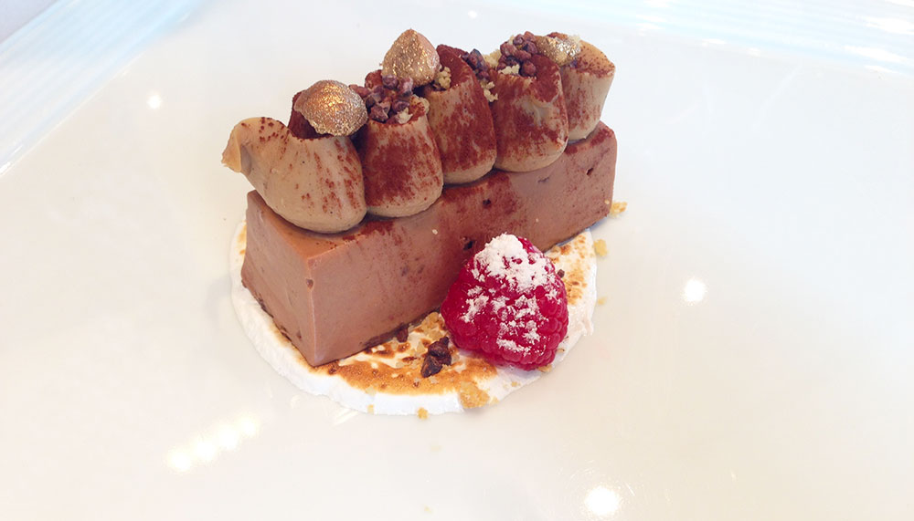 The Cliff, Gianduia mousse