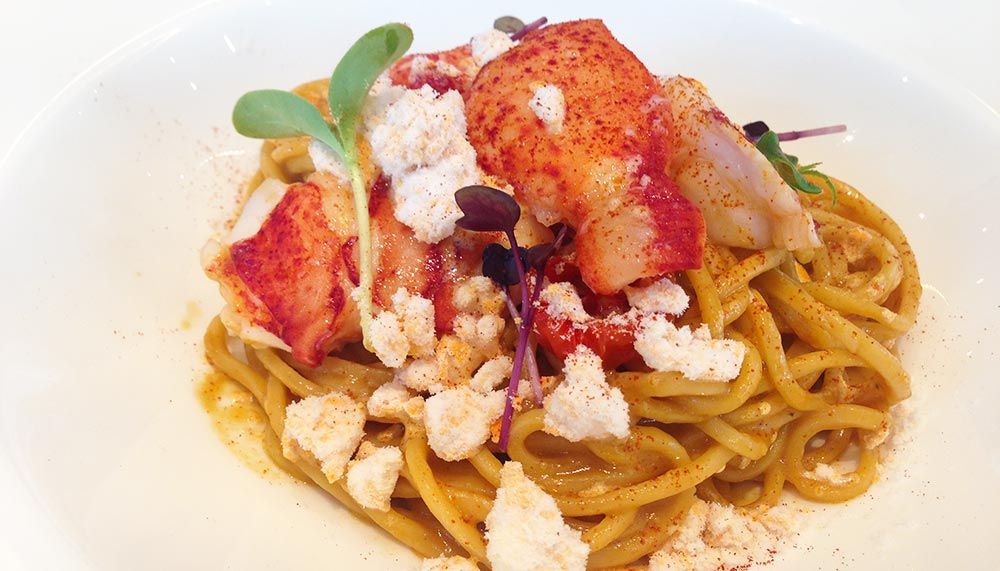 The Cliff, Lobster spaghetti