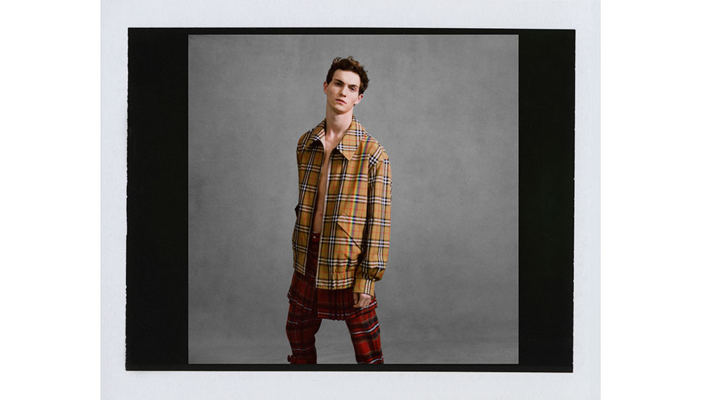 Burberry, Rainbow Vintage Check Harrington Jacket