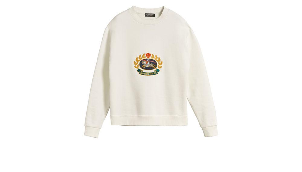 Burberry, Reissued Jersey Sweatshirt