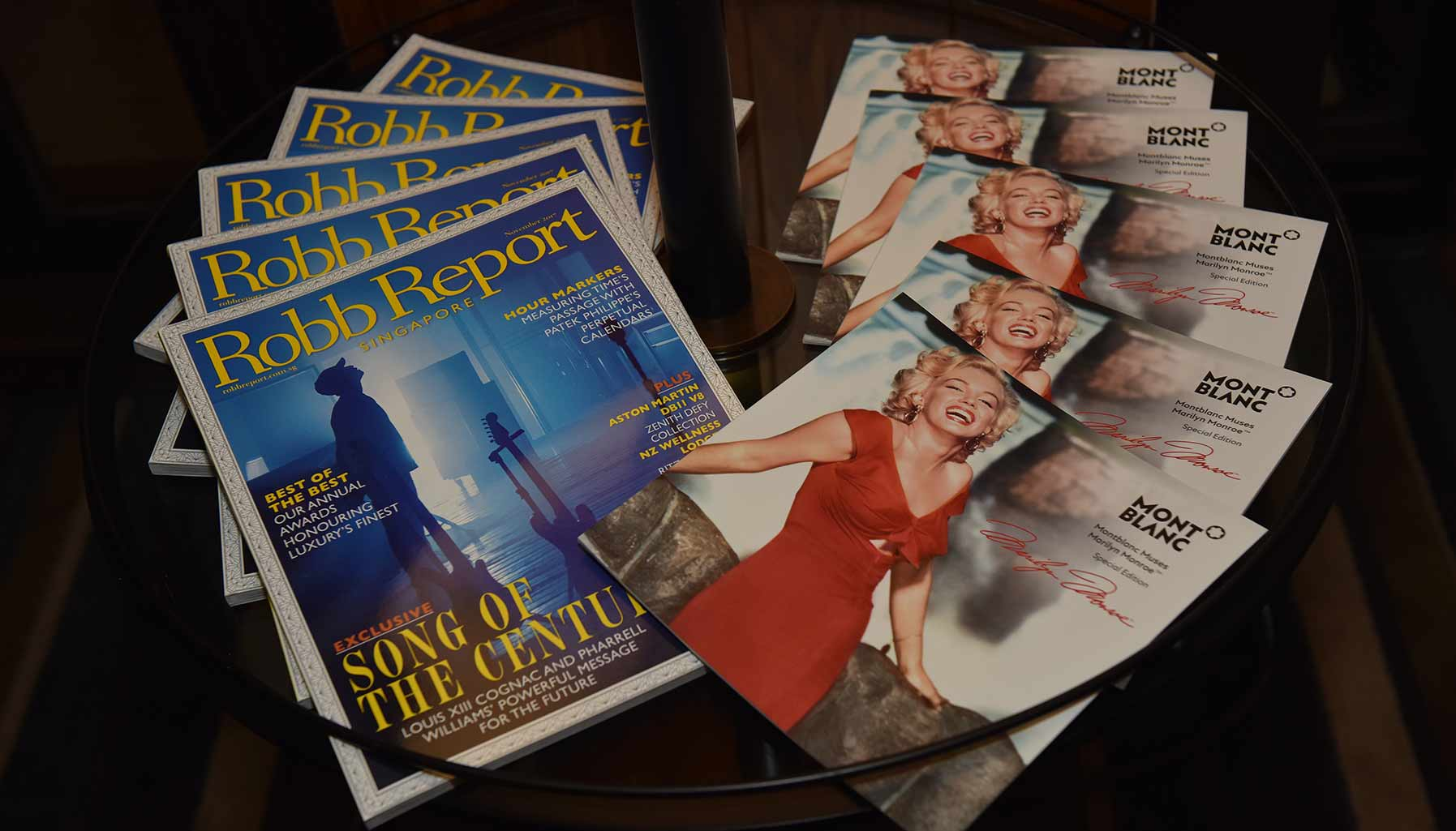 Muses Marilyn Monroe Collection, Robb Report Singapore