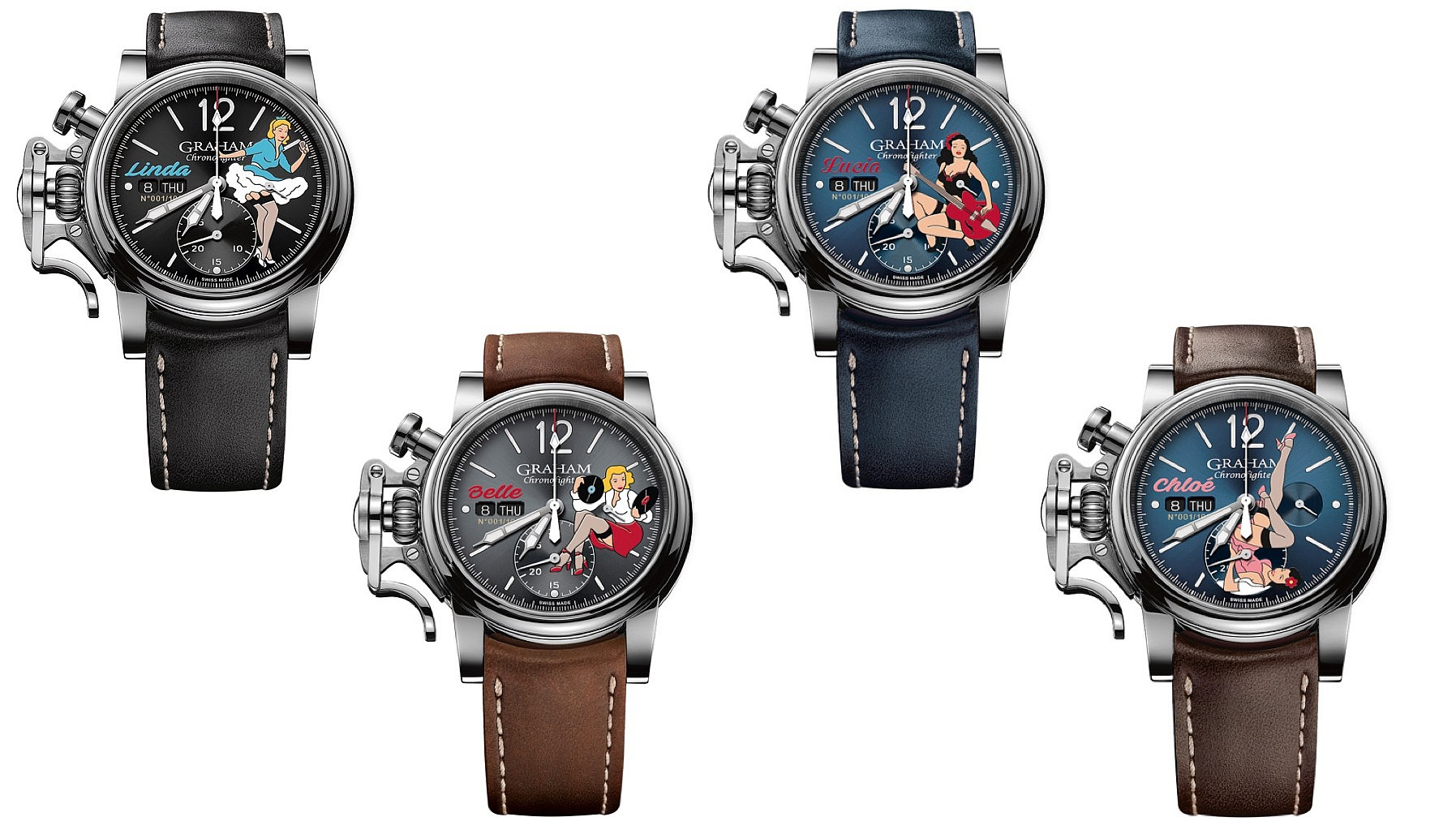 Baselworld 2018 Graham Nose Art collection
