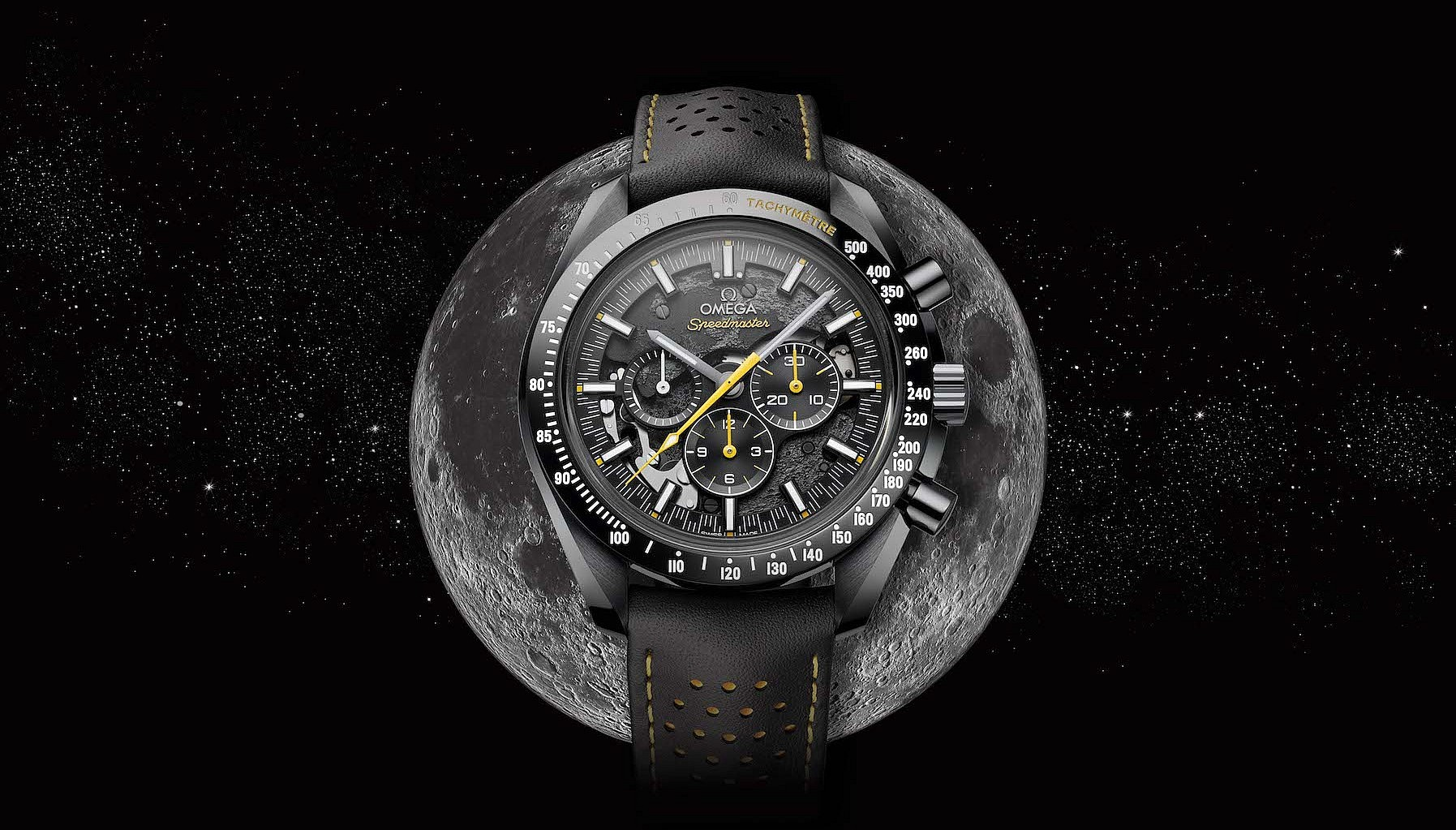 Baselworld 2018: Omega Dark Side of The Moon