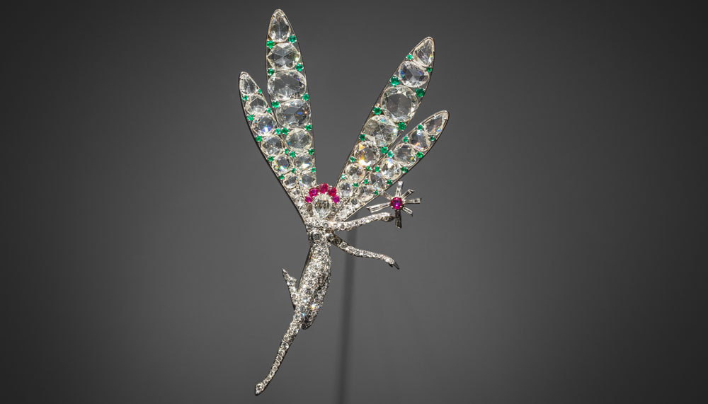 Van Cleef & Arpels Spirit of Beauty clip