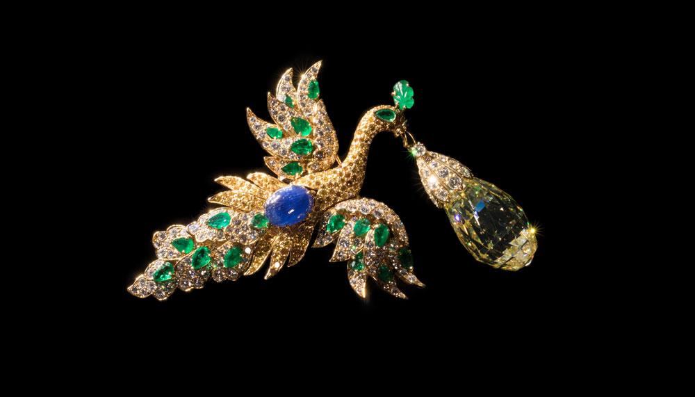 Van Cleef & Arpels bird clip