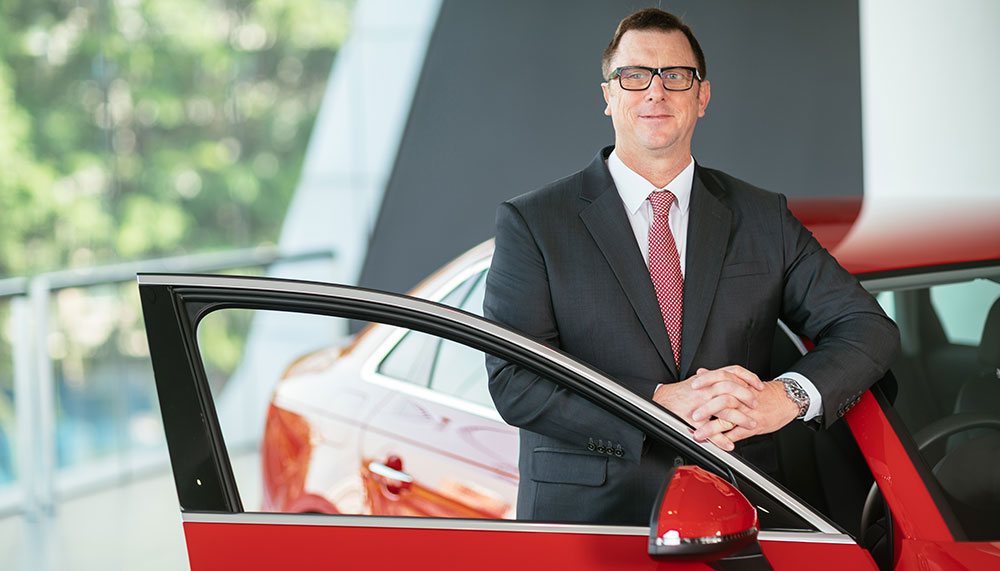 Jeff Mannering, managing director, Audi Singapore