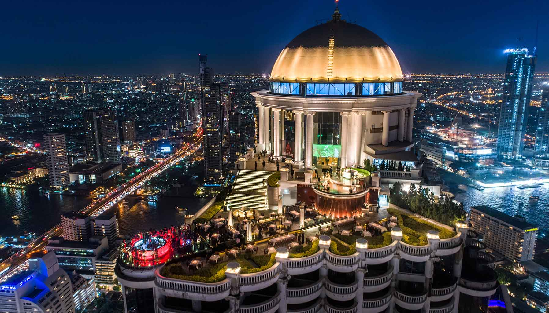 Mezzaluna Bangkok, The Dome, Lebua