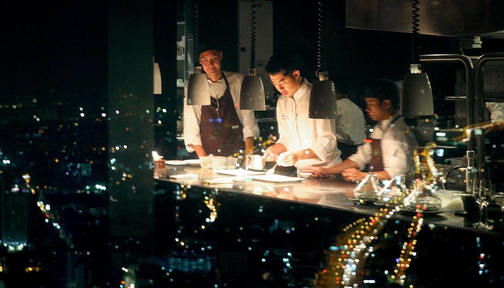 Chef Ryuki Kawasaki, Mezzaluna Bangkok, The Dome, Lebua