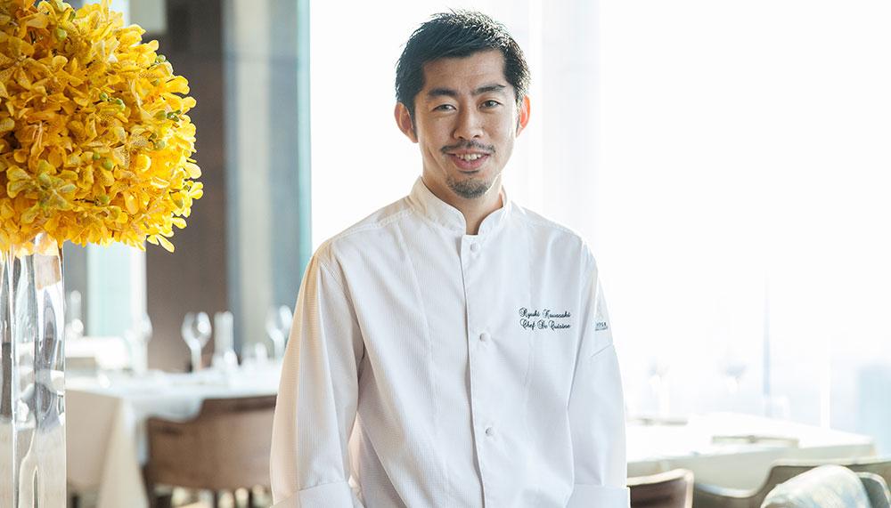 Mezzaluna Bangkok, The Dome, Lebua, Chef Ryuki Kawasaki