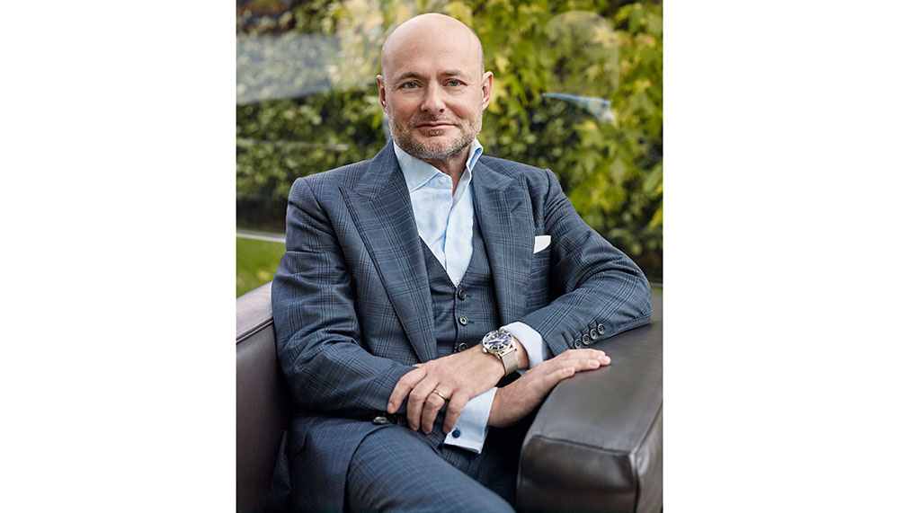 Georges Kern, CEO of Breitling