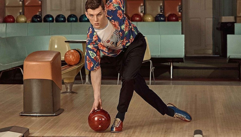Prada x Mr Porter bowling capsule collection