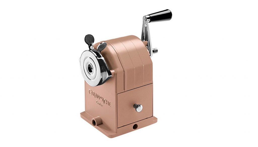 Caran D'Ache Matterhorn Brut Rose pencil sharpener