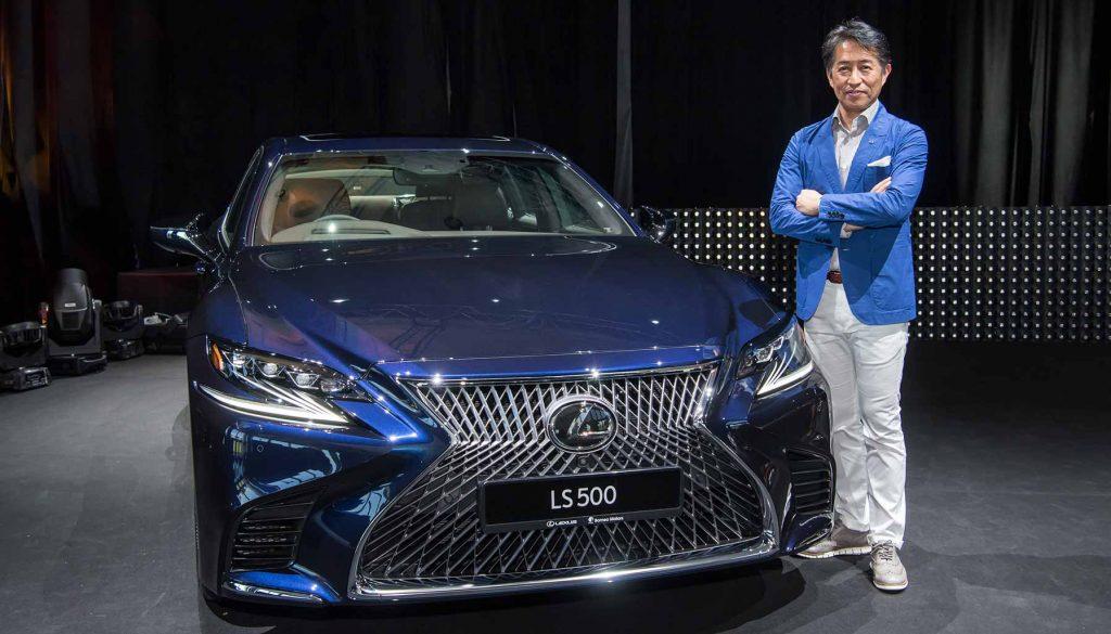 Lexus LS 500, Koichi Suga