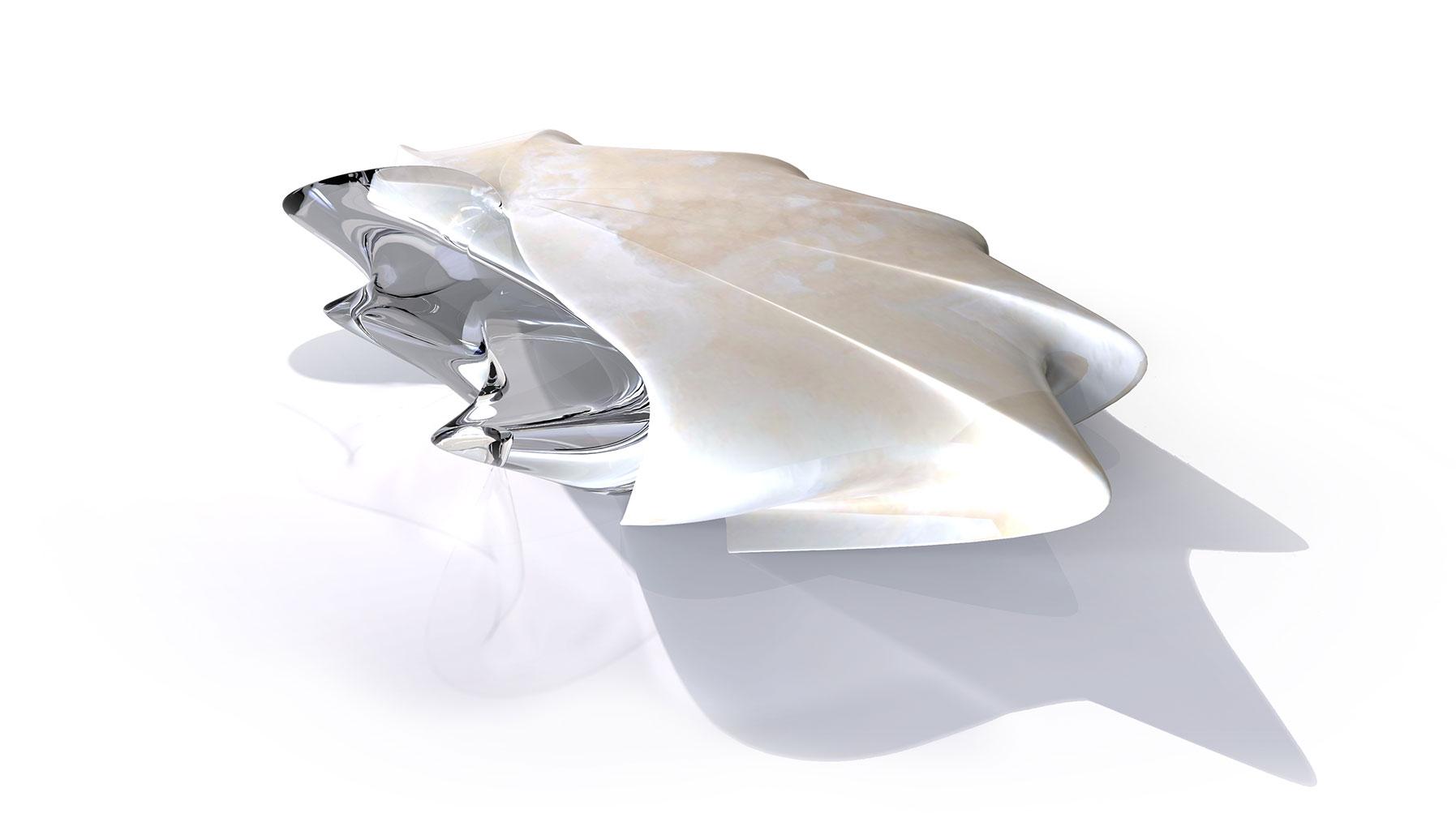 Malea table, Zaha Hadid Design, Citco