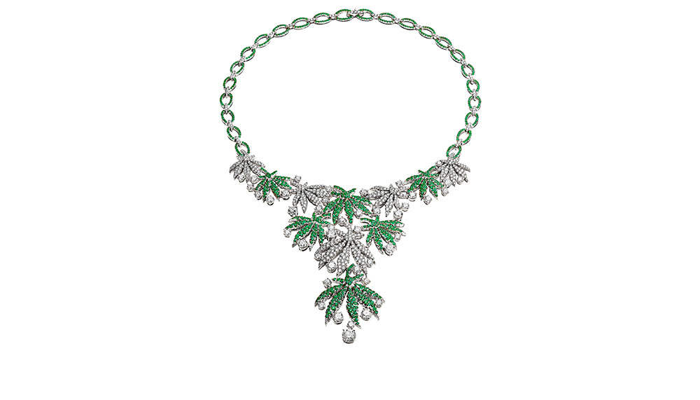 Bvlgari Wild Pop collection, Happy Leaves Necklace