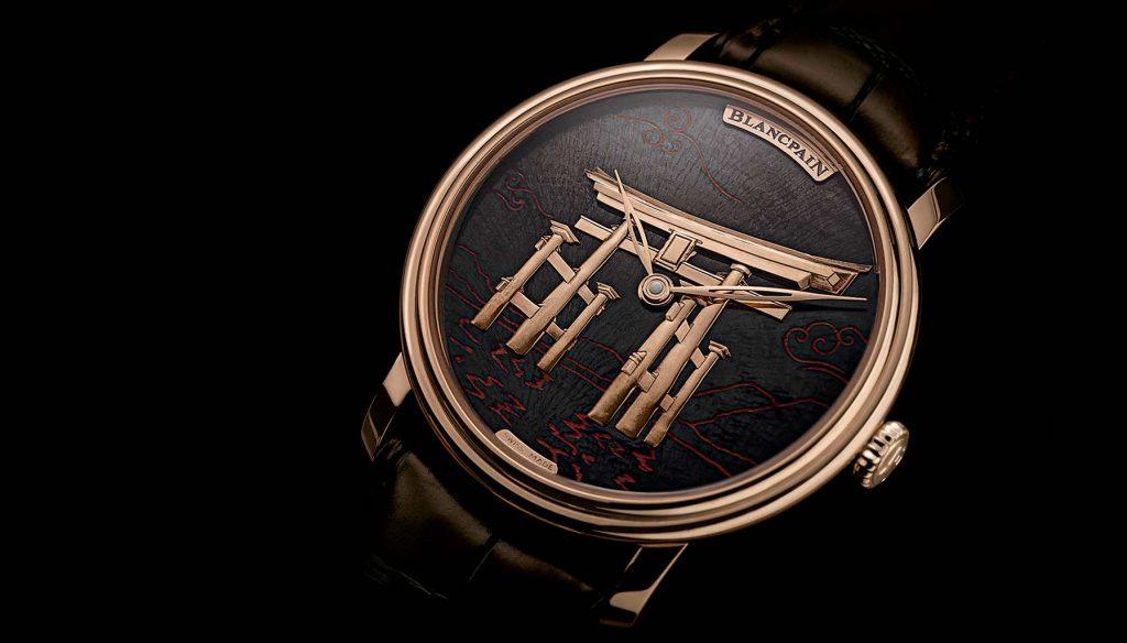 Baselworld 2018 artisanal watches, Blancpain Villeret Metiers D'art Binchotan