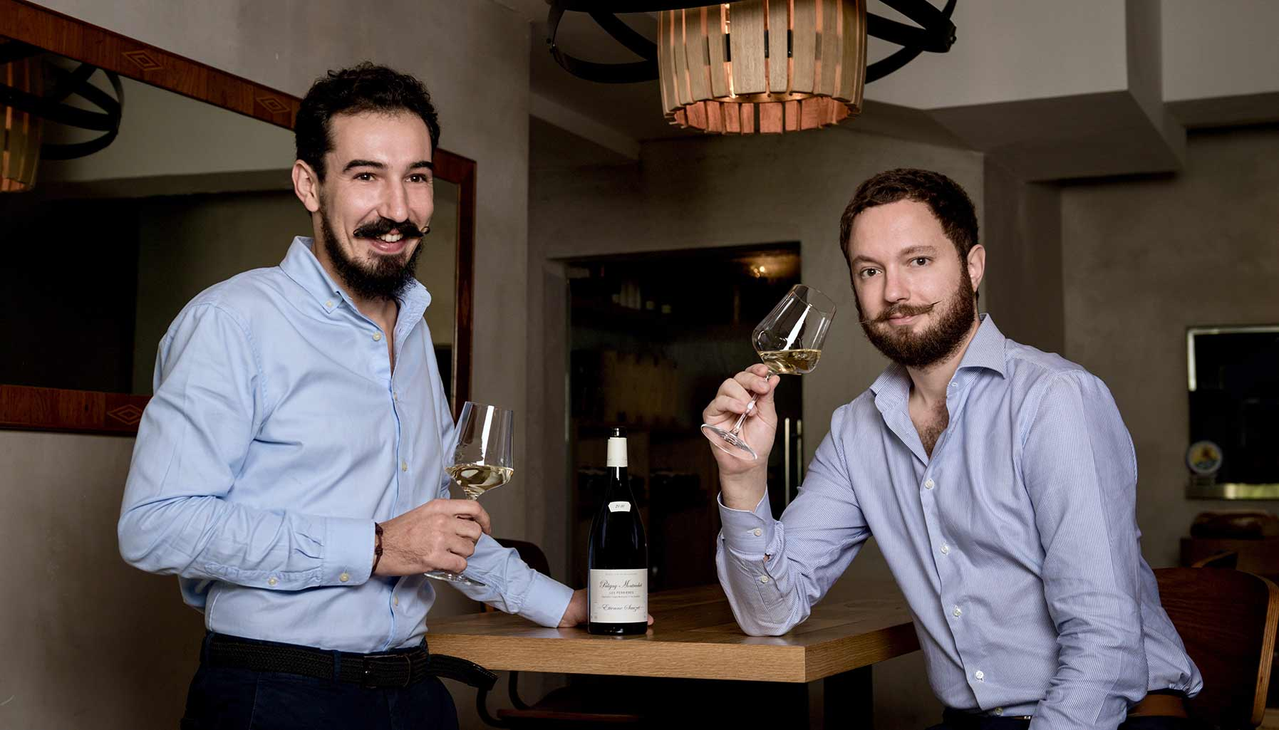 Ma Cuisine founders Anthony Charmetant and Mathieu Escoffier