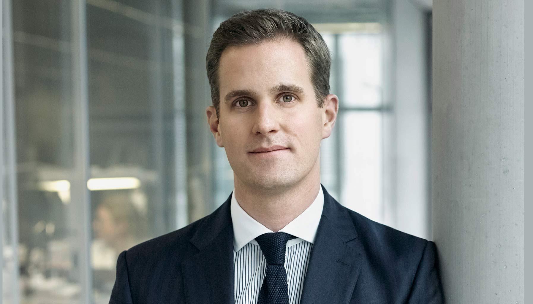 CEO of IWC, Christophe Grainger-Herr